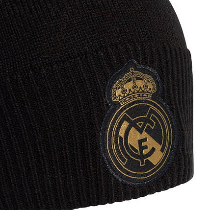 Шапка Adidas Real Madrid Woolie DY7727 Черный (4060512209878), фото 2