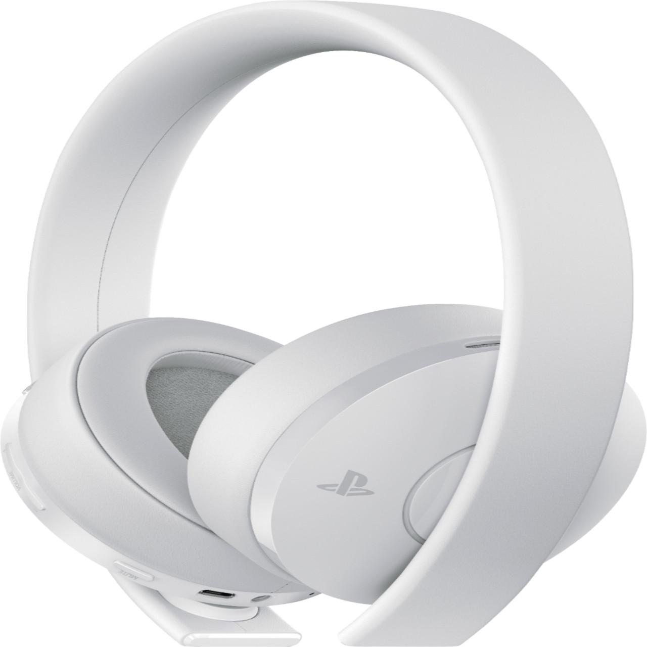 Навушники Sony PS4 Gold Wireless Headset White
