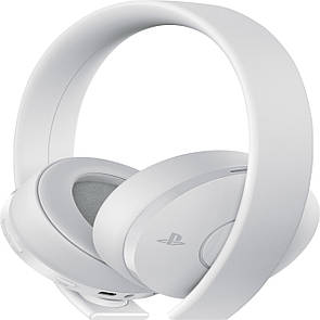 Навушники Sony PS4 Gold Wireless Headset White