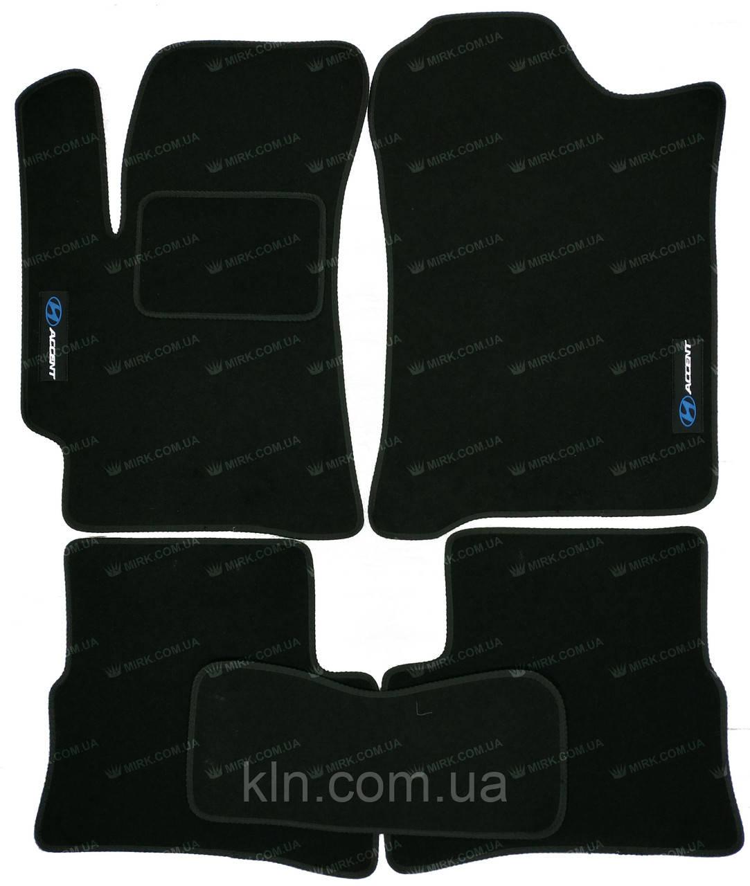 Коврики Hyundai Accent (Verna) 2006-2010 текстильные Standart