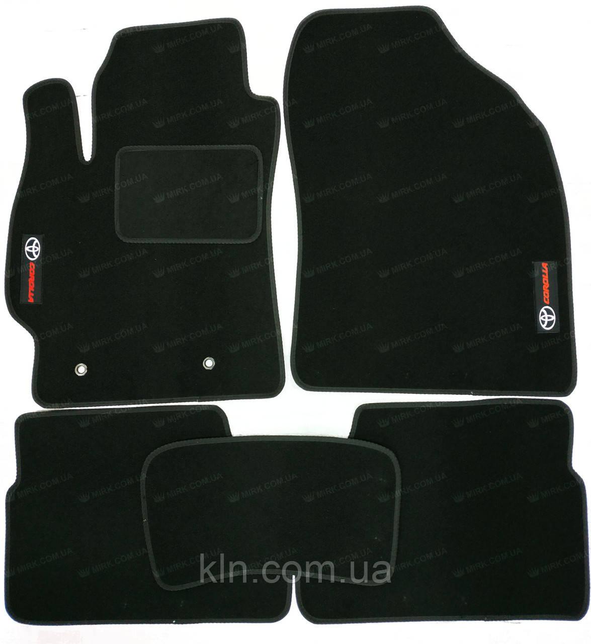 Коврики Toyota Corolla E140 2007-2012 текстильные Standart