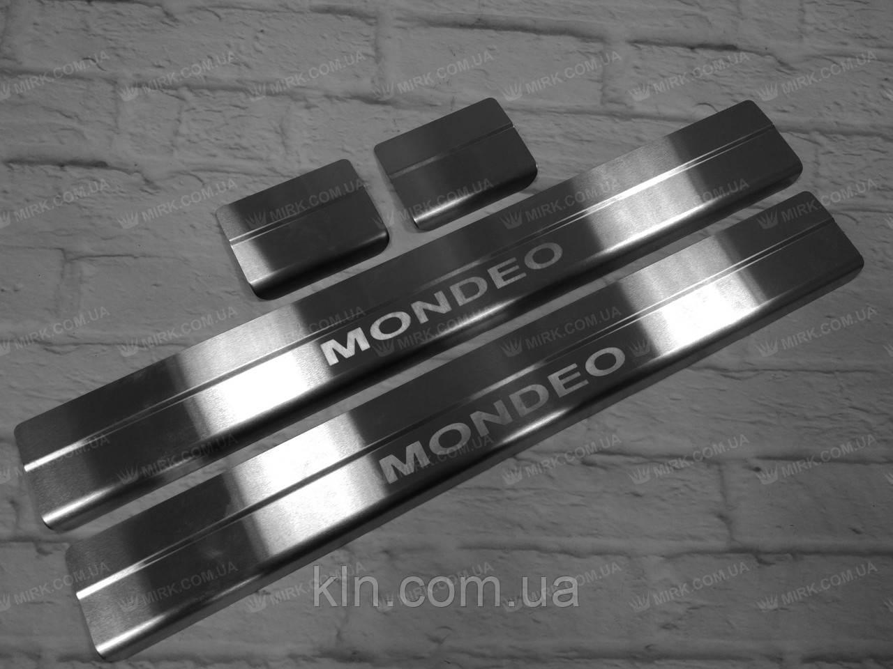 Накладки на пороги Ford Mondeo IV 2007-2014