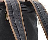 Рюкзак унисекс парусина+кожа RG-9001-4lx бренда TARWA, фото 5