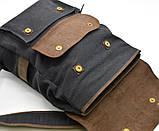 Рюкзак унисекс парусина+кожа RG-9001-4lx бренда TARWA, фото 6