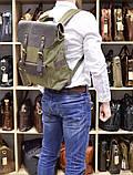 Рюкзак унисекс парусина+кожа RG-9001-4lx бренда TARWA, фото 8