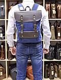 Рюкзак унисекс парусина+кожа RG-9001-4lx бренда TARWA, фото 9