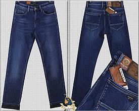 Джинсы мужские утеплённые классические Pagalee синего цвета 36 размер