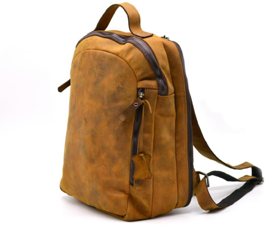 Повсякденний рюкзак RB-3072-3md, бренд TARWA, натуральна шкіра Crazy Horse
