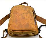 Повсякденний рюкзак RB-3072-3md, бренд TARWA, натуральна шкіра Crazy Horse, фото 3