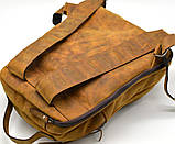 Повсякденний рюкзак RB-3072-3md, бренд TARWA, натуральна шкіра Crazy Horse, фото 4