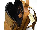 Повсякденний рюкзак RB-3072-3md, бренд TARWA, натуральна шкіра Crazy Horse, фото 5
