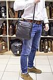 Мужская кожаная сумка через плечо GA-1300-3md TARWA, фото 8