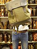 Рюкзак міський, парусина+шкіра RC-3880-H від бренду TARWA, фото 10