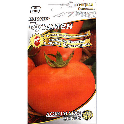"Семена томата ""Бушмен"" (0,4 г) от Agromaksi seeds"
