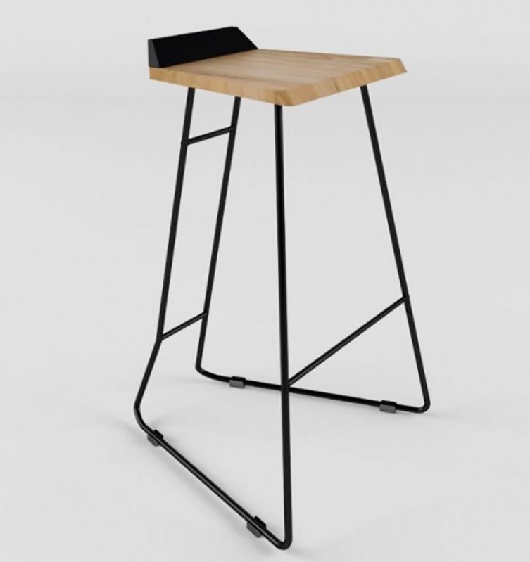 Дизайнерский барный стул Origami Tab TM Esense