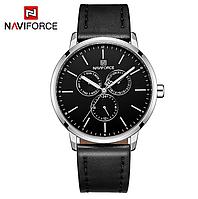 Мужские наручные кварцевые часы Naviforce NF3001-SB