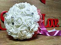 Свадебный букет-дублер для невесты Stile Цвет вересковый (пудра).