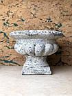 Кашпо горщик для квітів декоративна вінтажний кам'яний, фото 2