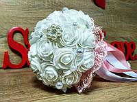 Свадебный букет-дублер для невесты Stile Цвет розовая пудра.