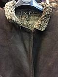 Дубленка мужская женская унисекс натуральная 50 52 размер дубленка из овчины натуральный мех, фото 5
