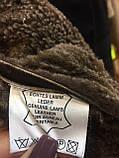 Дубленка мужская женская унисекс натуральная 50 52 размер дубленка из овчины натуральный мех, фото 8