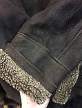 Дубленка мужская женская унисекс натуральная 50 52 размер дубленка из овчины натуральный мех, фото 10