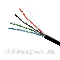 ElectroHouse Кабель UTP 4х2х0,51 CCA (наружный монтаж)