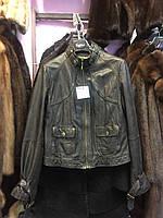 Куртка из натуральной кожи куртка женская натуральная кожа 42-44 размер S-М