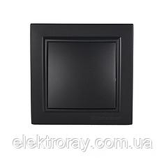 ElectroHouse Выключатель графит Enzo ЕН-2181-PG
