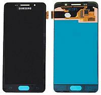 Дисплейный модуль Samsung SM-A310 Galaxy A3 (2016) black + touchscreen TFT с регулируемой подсветкой