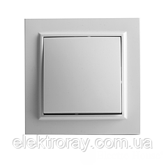 ElectroHouse Выключатель белый Enzo EH-2101