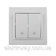 ElectroHouse Выключатель двойной проходной Enzo EH-2107