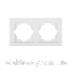 ElectroHouse Рамка двойная Enzo EH-2117