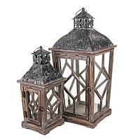 Декоративный Фонарь Для Дома Сада или Дачи деревянный
