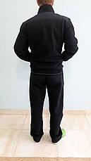 Дуже теплий чоловічий спортивний костюм Sporaf трикотажний Синій, фото 3