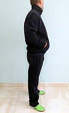 Очень теплый мужской спортивный костюм Sporaf трикотажный Синий, фото 2