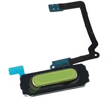 Шлейф для Samsung G900, S5 с кнопкой Home White