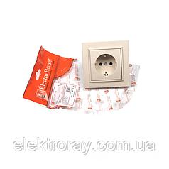 ElectroHouse Розетка с заземлением латте Enzo EH-2192