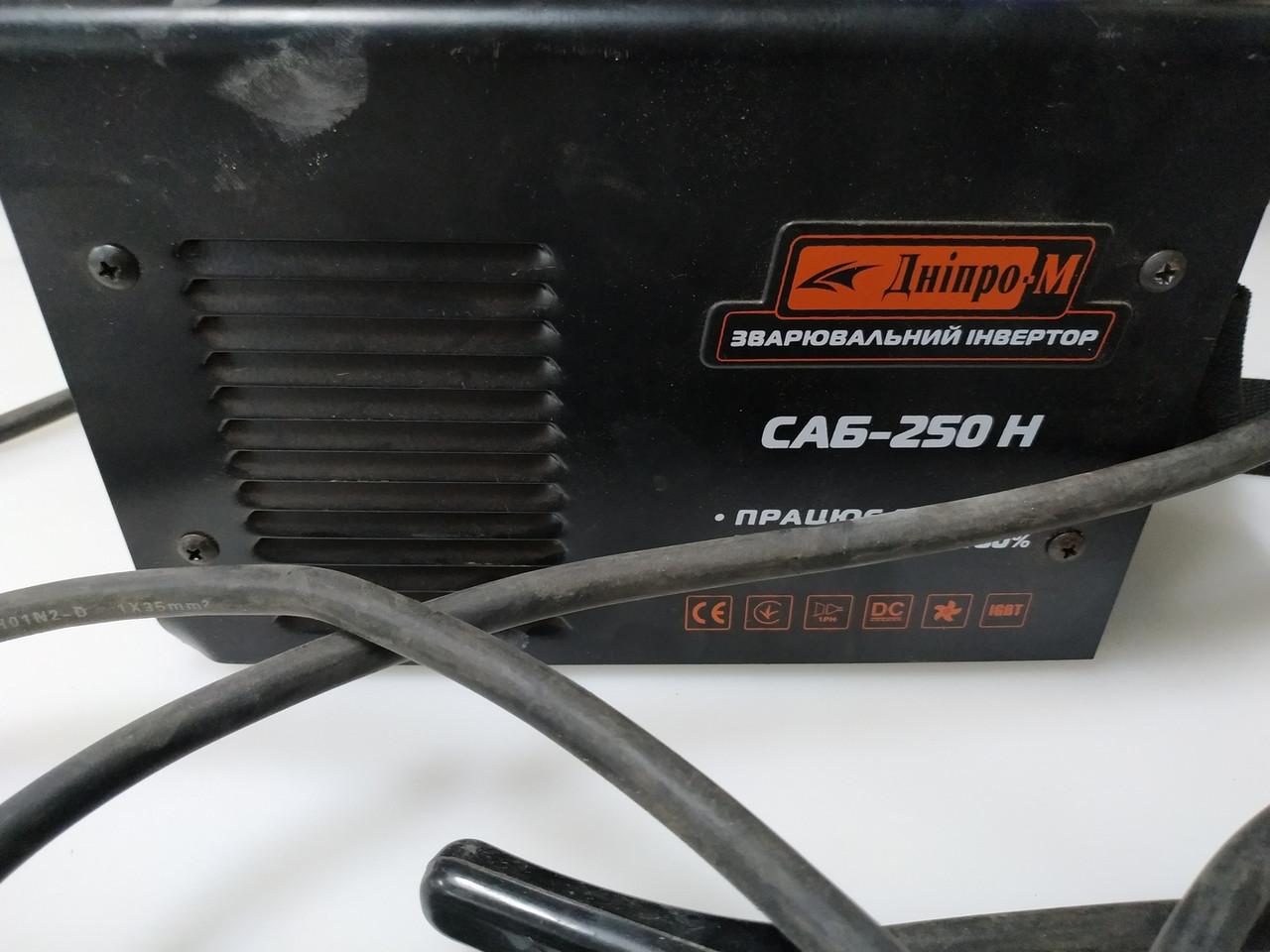 Сварочный аппарат инвертор IGBT Dnipro-M SAB-250N ток 250А