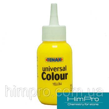 Yellow TENAX UNIVERSAL COLOUR 75ml Краситель для клея жёлтый