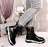 Ботинки женские зимние черные эко- кожа :)В НАЛИЧИИ ТОЛЬКО 36р, фото 2