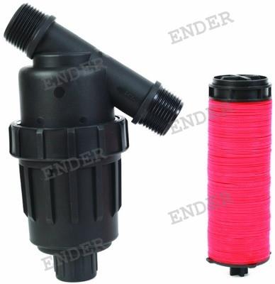 """Фильтр Ender дисковый 1""""  (пропускная способность 4 м3/ч) для капельного полива"""