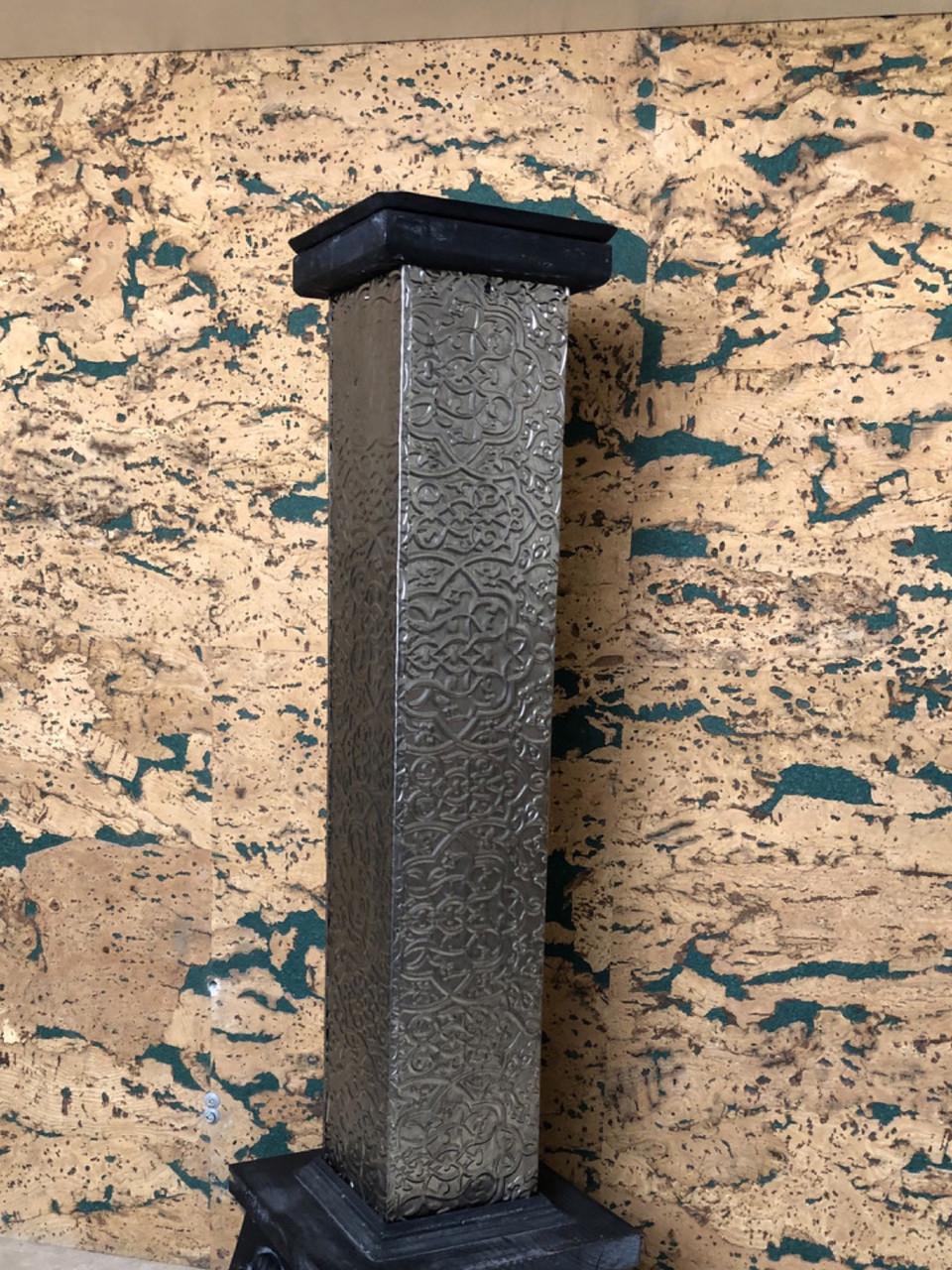 Підсвічник великий декоративний металевий
