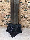 Підсвічник великий декоративний металевий, фото 2