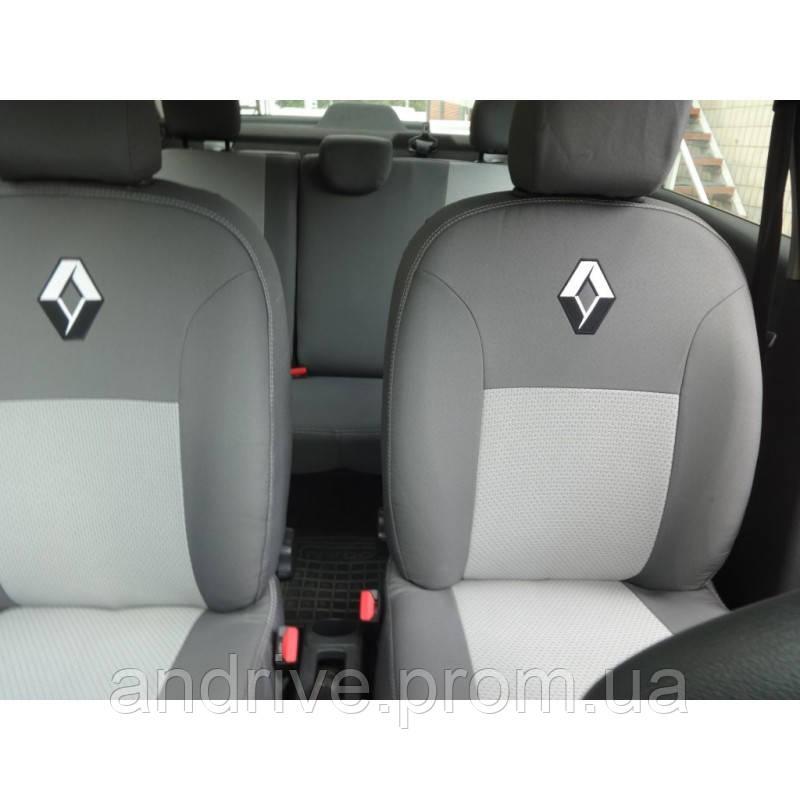 Авточехлы Renault Duster (раздельный диван) Privilege с 2015 г