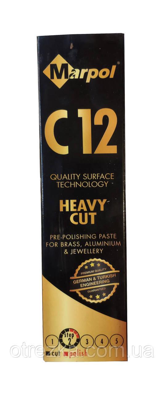 Паста полировальная Marpol C12 1 кг. коричневая