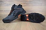 Зимние мужские кроссовки Adidas Climaproof высокие серые 41-45рр. Живое фото. Реплика, фото 5
