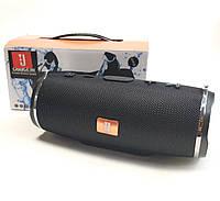 Портативная bluetooth колонка блютуз акустика для телефона с флешкой повербанк черная CHARGE3 mini