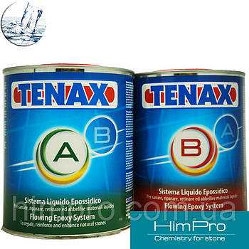 TENAX A+B fluido 1,25kg Жидкая эпоксидная резинатура