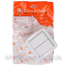 ElectroHouse Выключатель двойной Acura